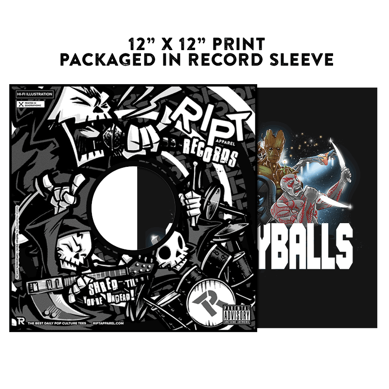 Galaxyballs - Album Cover Prints - Posters - RIPT Apparel
