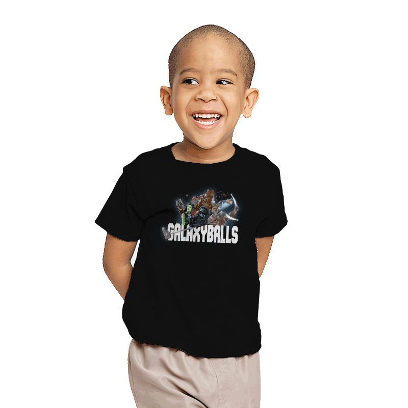 Galaxyballs - Youth - T-Shirts - RIPT Apparel