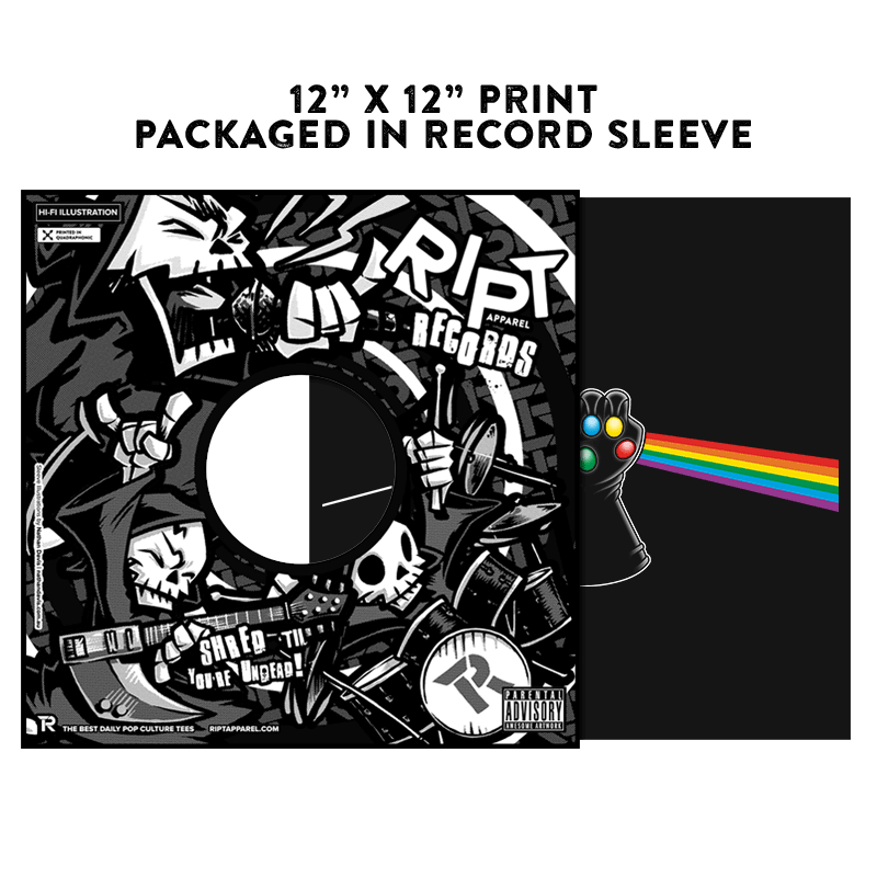 Dark Side of Infinity - Album Cover Prints - Posters - RIPT Apparel