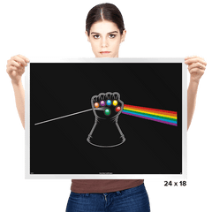 Dark Side of Infinity - Prints - Posters - RIPT Apparel