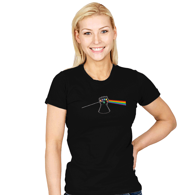 Dark Side of Infinity - Womens - T-Shirts - RIPT Apparel