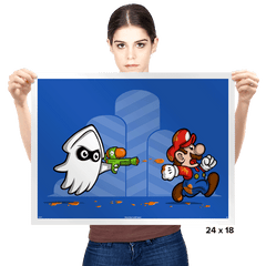 Revenge of the Squid - Prints - Posters - RIPT Apparel