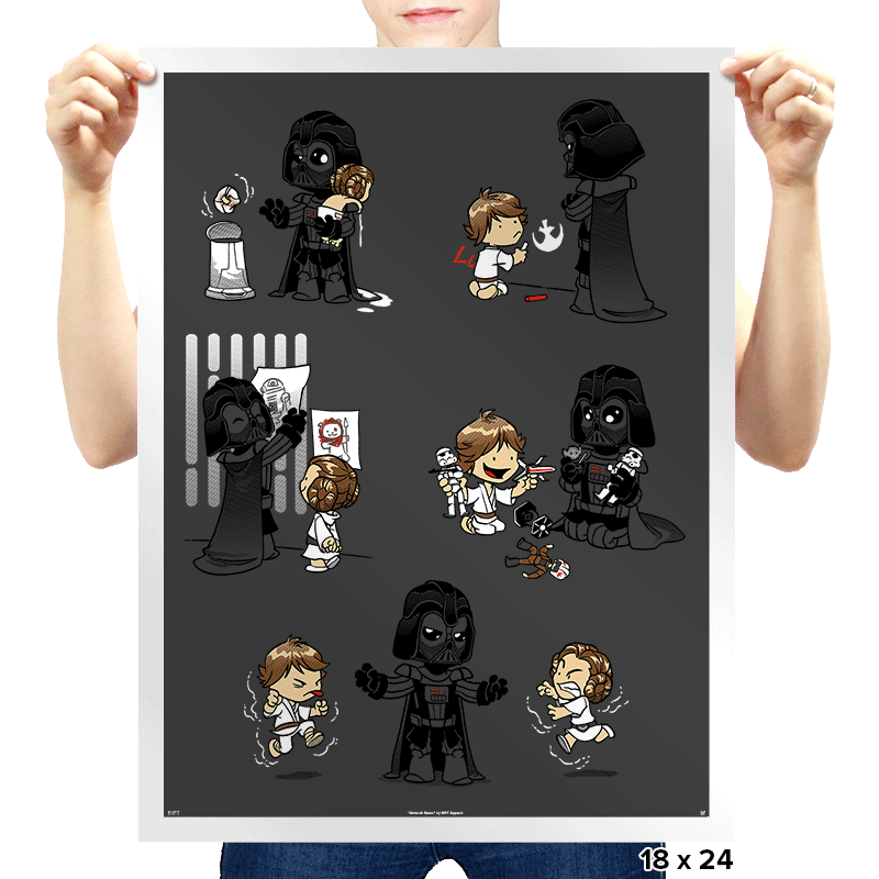 Father of the Year - Prints - Posters - RIPT Apparel