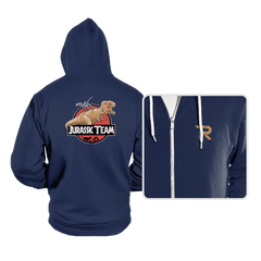 Jurassic Team - Hoodies - Hoodies - RIPT Apparel