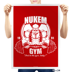 Nukem Gym - Prints - Posters - RIPT Apparel