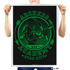 Archers' Academy - Prints - Posters - RIPT Apparel