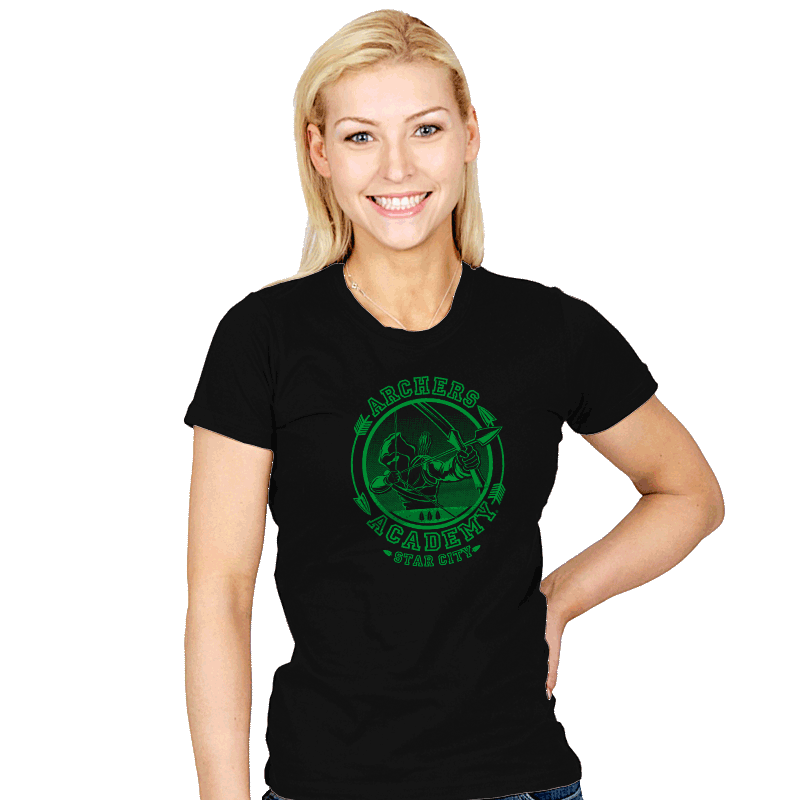 Archers' Academy - Womens - T-Shirts - RIPT Apparel