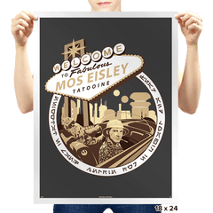 Fear and Loathing in Mos Eisley - Prints - Posters - RIPT Apparel
