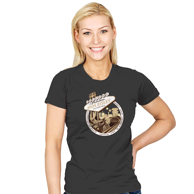 Fear and Loathing in Mos Eisley - Womens - T-Shirts - RIPT Apparel