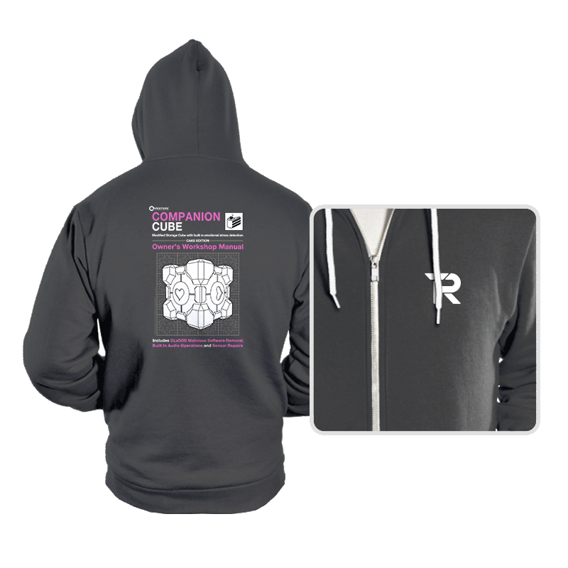 Companion Cube Manual - Hoodies - Hoodies - RIPT Apparel