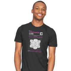 Companion Cube Manual - Mens - T-Shirts - RIPT Apparel