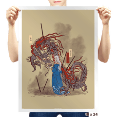 Dance of the Dragon - Prints - Posters - RIPT Apparel