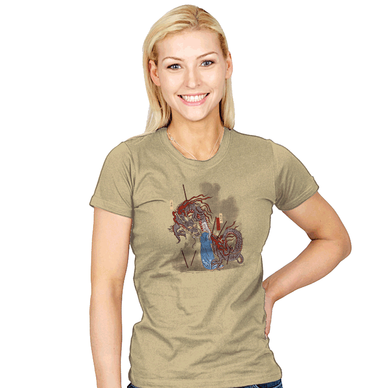 Dance of the Dragon - Womens - T-Shirts - RIPT Apparel