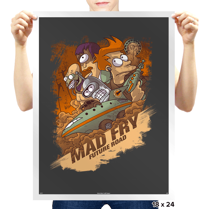 Mad Fry Exclusive - Prints - Posters - RIPT Apparel