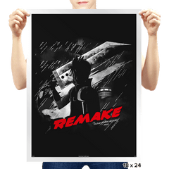 Remake - Prints - Posters - RIPT Apparel
