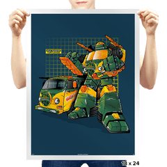 Turtlehide - Prints - Posters - RIPT Apparel