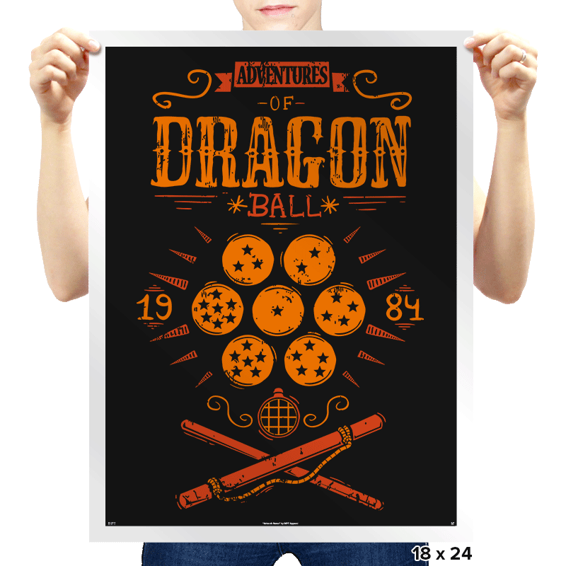 Adventures of goku - Prints - Posters - RIPT Apparel