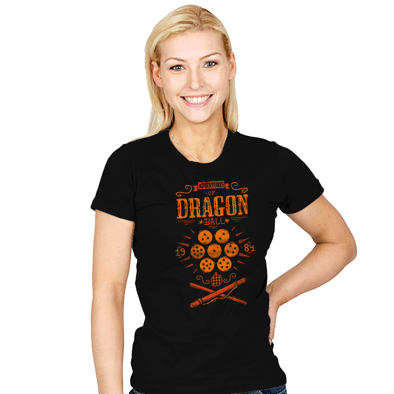 Adventures of goku - Womens - T-Shirts - RIPT Apparel