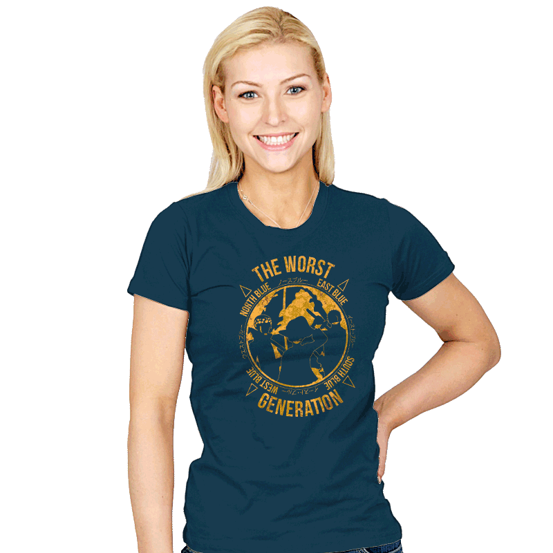 The Worst Generation - Womens - T-Shirts - RIPT Apparel