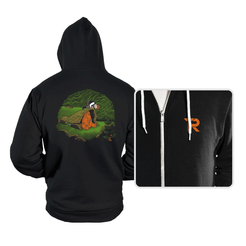 The Smuggler and the Fuzzball - Hoodies - Hoodies - RIPT Apparel