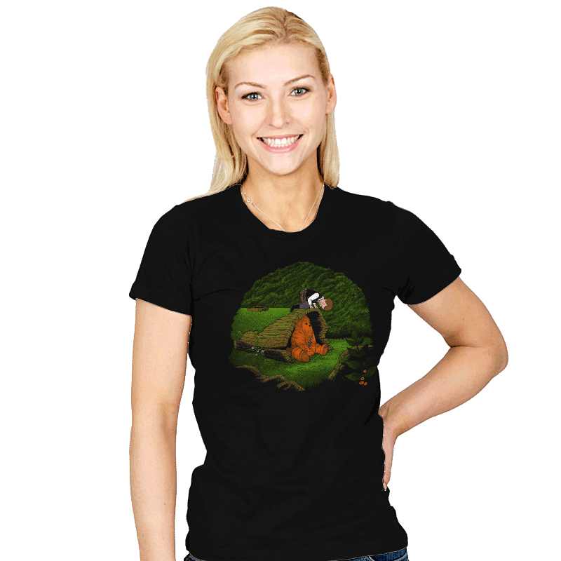 The Smuggler and the Fuzzball - Womens - T-Shirts - RIPT Apparel