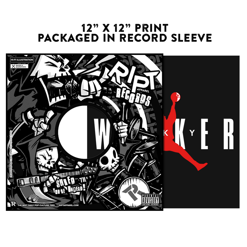 Sky Walker - Album Cover Prints - Posters - RIPT Apparel