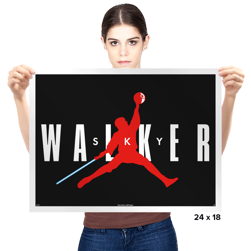 Sky Walker - Prints - Posters - RIPT Apparel