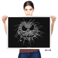 Scary Web - Prints - Posters - RIPT Apparel