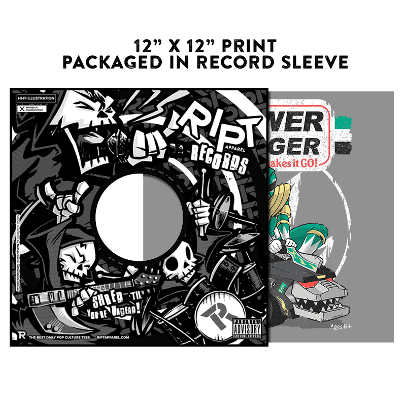 Pow-Pow-Power - Album Cover Prints - Posters - RIPT Apparel