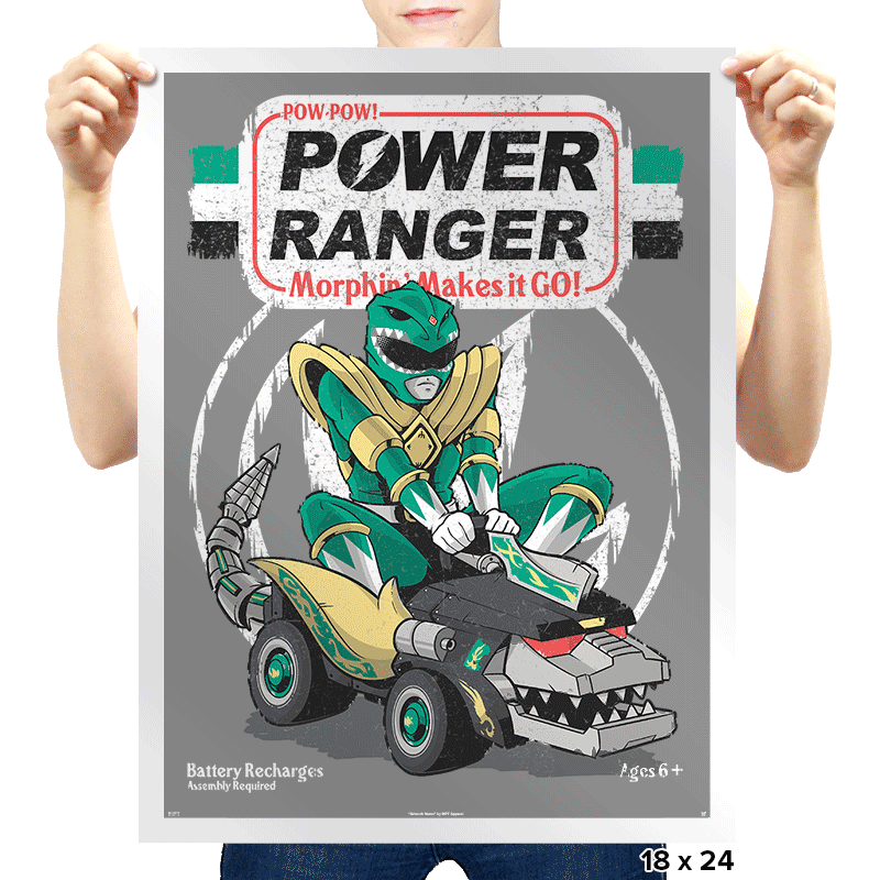 Pow-Pow-Power - Prints - Posters - RIPT Apparel