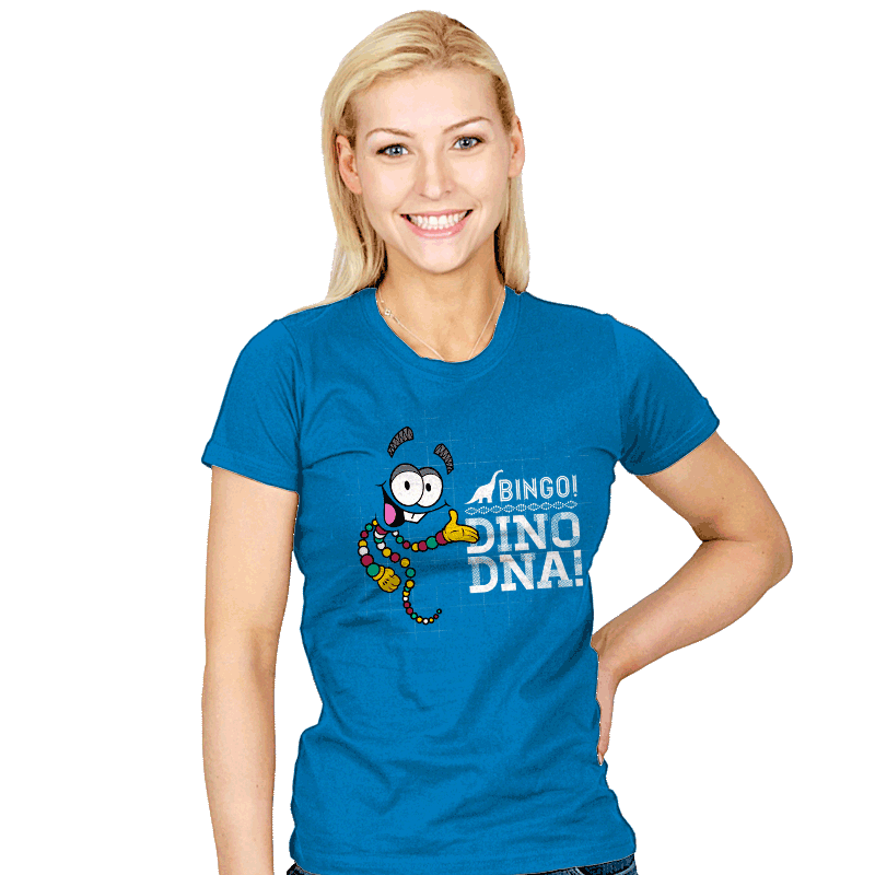 Jurassic Bingo! - Womens - T-Shirts - RIPT Apparel