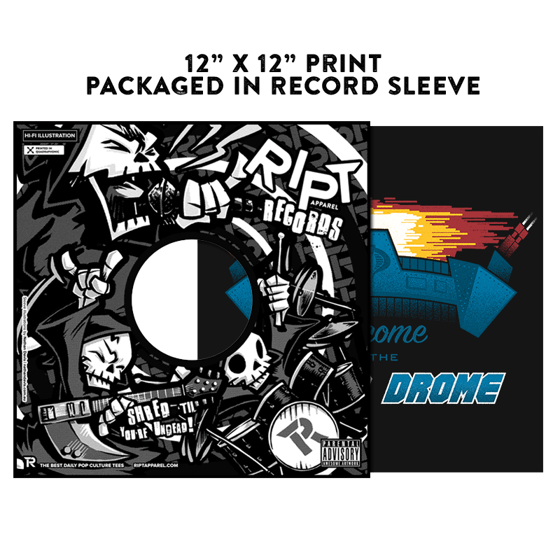 Welcome to the Terror Drome - Album Cover Prints - Posters - RIPT Apparel