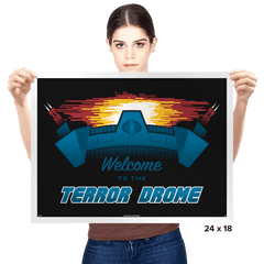 Welcome to the Terror Drome - Prints - Posters - RIPT Apparel