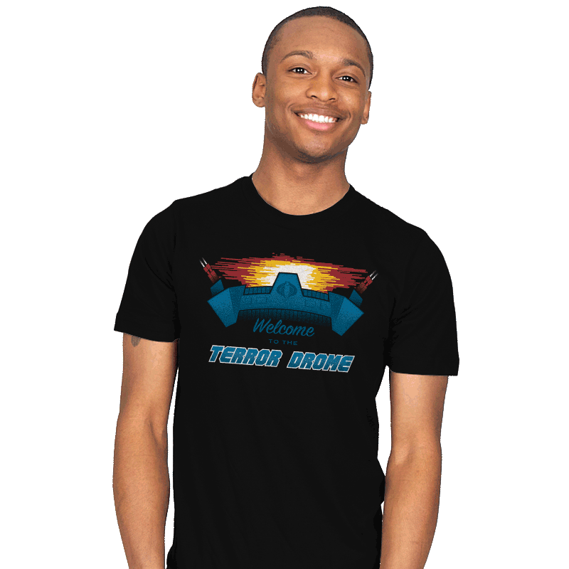 Welcome to the Terror Drome - Mens - T-Shirts - RIPT Apparel