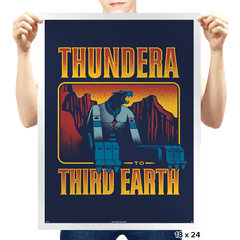 Thundera to Third Earth - Prints - Posters - RIPT Apparel
