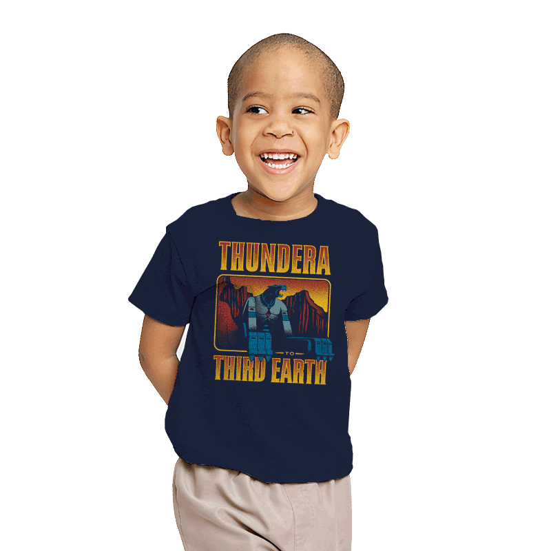 Thundera to Third Earth - Youth - T-Shirts - RIPT Apparel