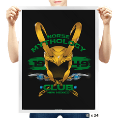 Norse Mythology Club Exclusive - Prints - Posters - RIPT Apparel