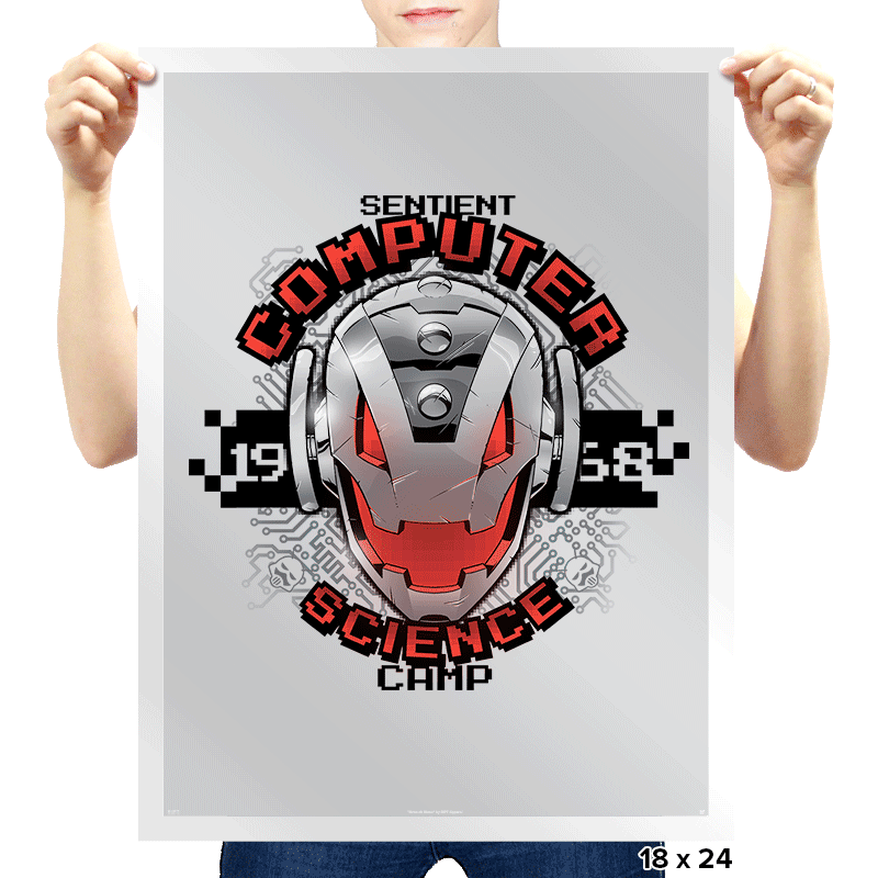 Computer Science Camp Exclusive - Prints - Posters - RIPT Apparel