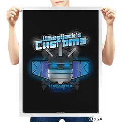 Wheeljack's Customs Exclusive - Prints - Posters - RIPT Apparel