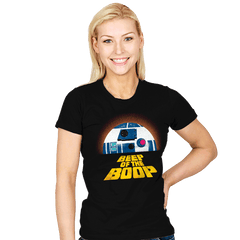 Beep of the Boop - Womens - T-Shirts - RIPT Apparel