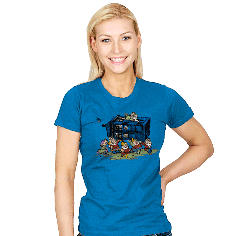 Off with Time we Go! - Womens - T-Shirts - RIPT Apparel