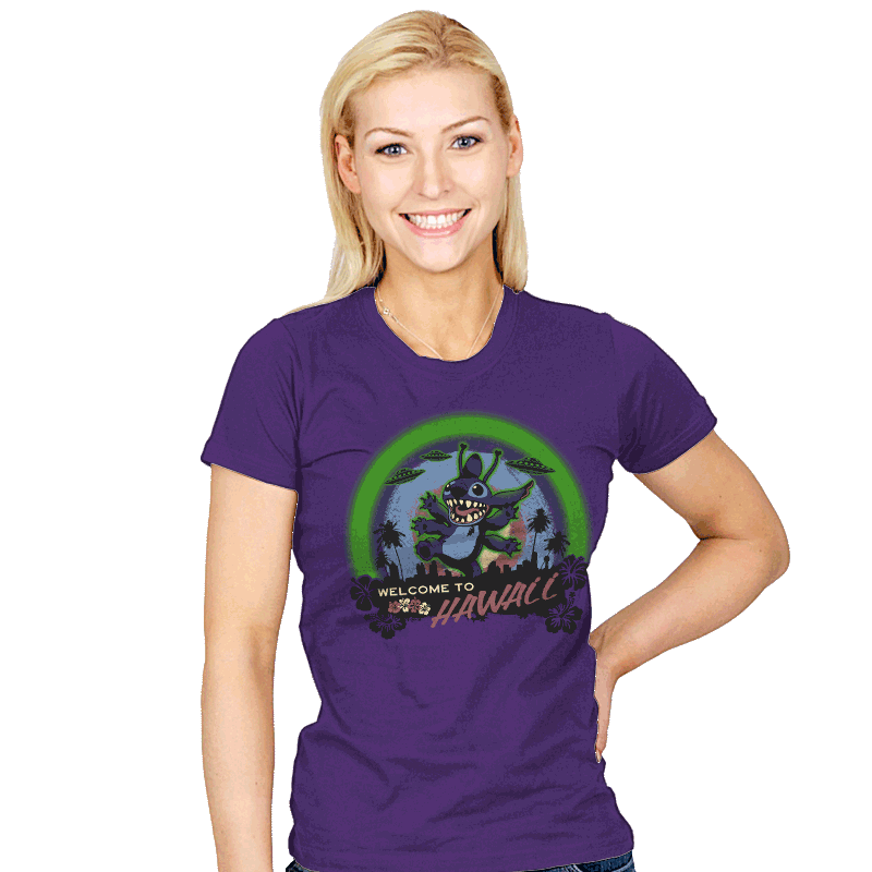 Welcome to Hawaii - Womens - T-Shirts - RIPT Apparel