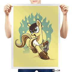 My Little Fury - Prints - Posters - RIPT Apparel