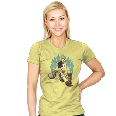 My Little Fury - Womens - T-Shirts - RIPT Apparel