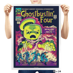 Ghostbustin Four #49 - Prints - Posters - RIPT Apparel