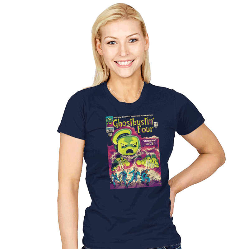 Ghostbustin Four #49 - Womens - T-Shirts - RIPT Apparel