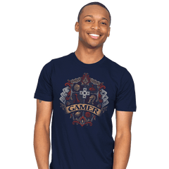 Gamer Crest - Mens - T-Shirts - RIPT Apparel