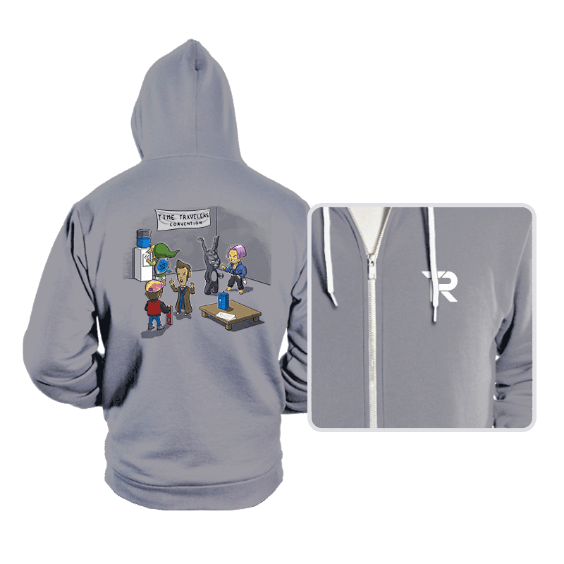 Time Travelers' Convention - Hoodies - Hoodies - RIPT Apparel