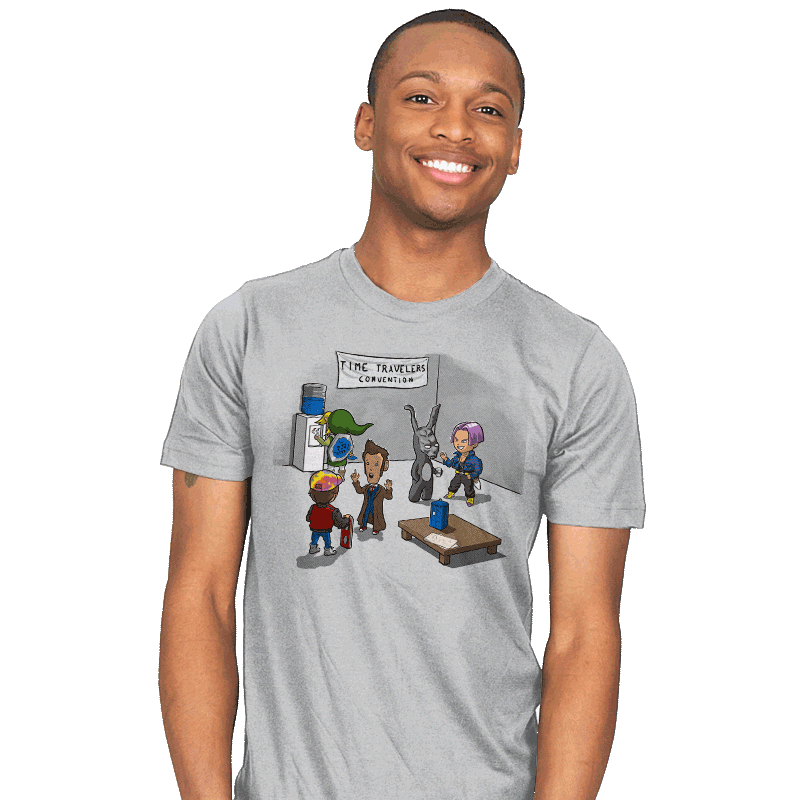 Time Travelers' Convention - Mens - T-Shirts - RIPT Apparel