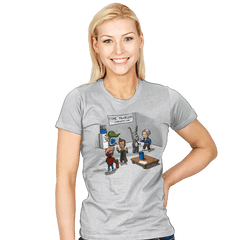 Time Travelers' Convention - Womens - T-Shirts - RIPT Apparel